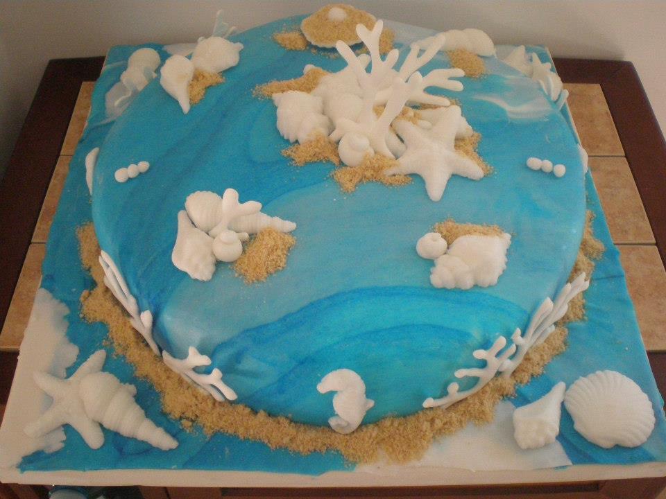 Festa di compleanno tema mare blog family for Decorazioni torte tema mare