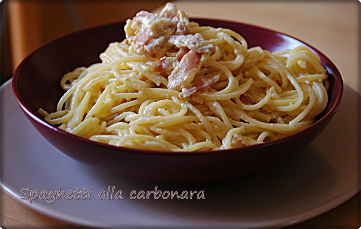 Ricette di cucina pasta alla carbonara