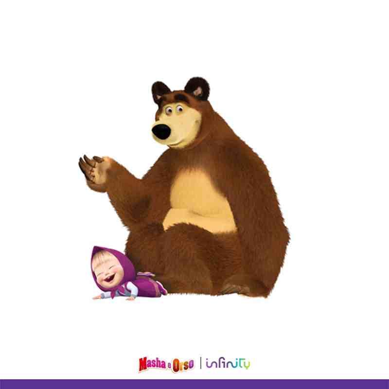 Masha e orso il cartone animato più amato dai bambini