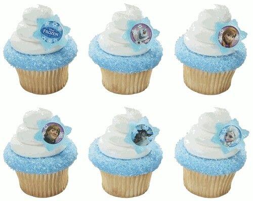 Cup Cake Festa Di Compleanno Frozen Blog Family