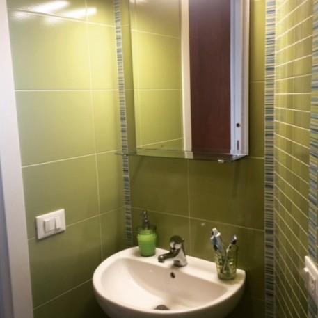 bagno piccolo verde