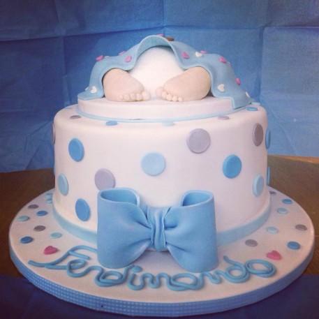 torta baby shower