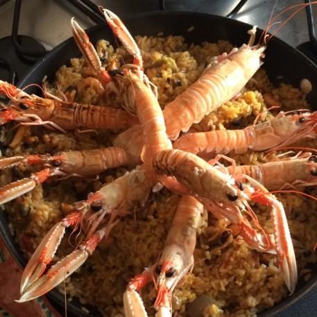 Paella Di Molluschi E Crostacei Marisco Blog Family