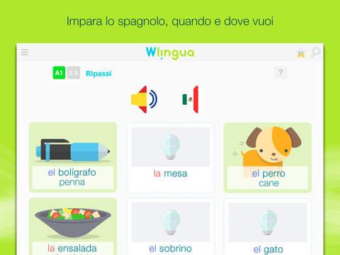 app Wlingua - Corso di Spagnolo