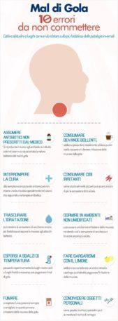 falsi miti contro il mal di gola