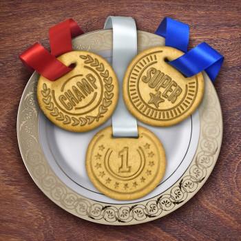 piatto-medaglie-biscotti