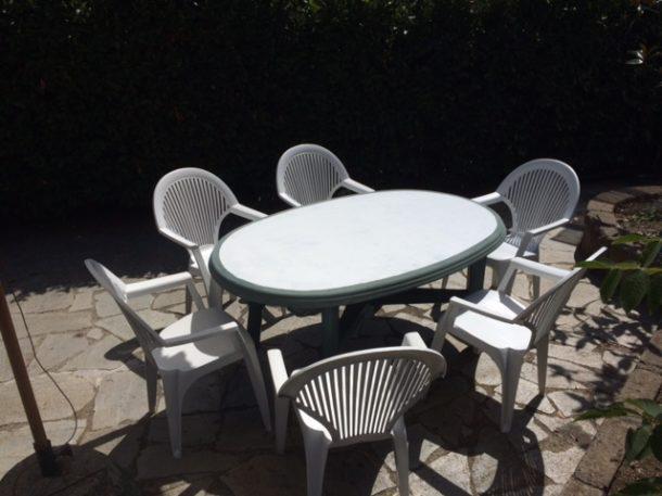 Sedie Verdi Di Plastica.Recuperare Le Sedie Di Plastica Macchiate Blog Family