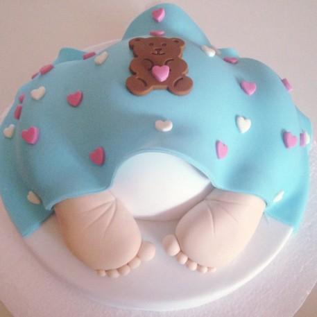 torta pannolino per un battesimo (1)