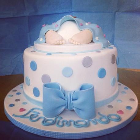 torta pannolino per un battesimo (2)