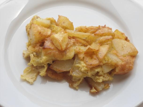tortilla o frittata di patate