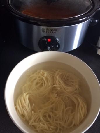 zuppa di vermicelli orientale